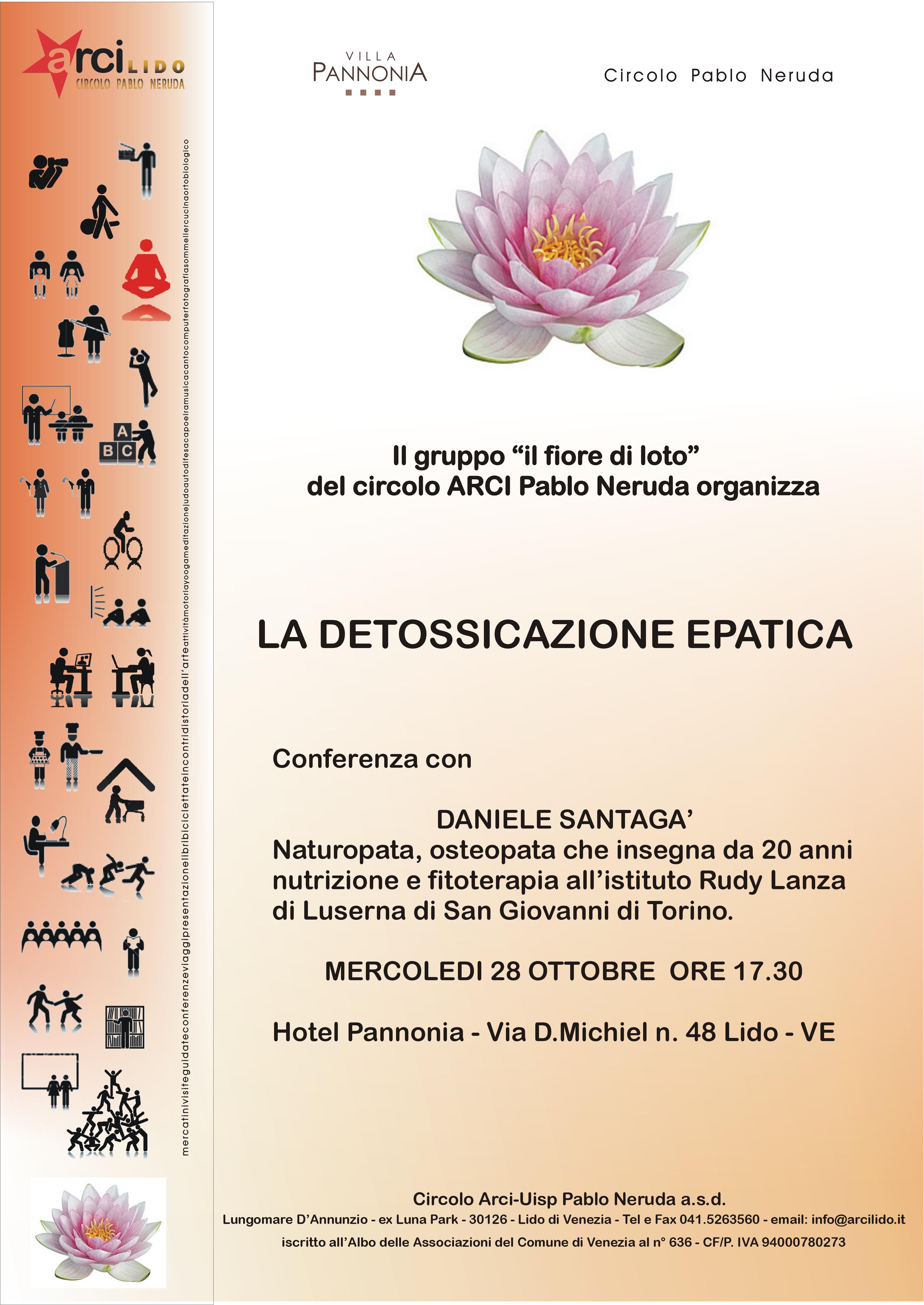Conferenza sulla detossificazione epatica